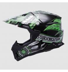 Casco cross MT Helmets Synchrony Native Verde