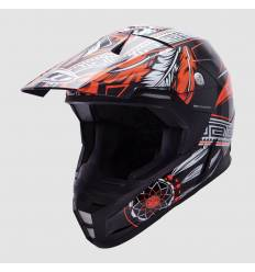 Casco cross MT Helmets Synchrony Native Naranja