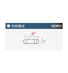 FUSIBLE 10A 30MM