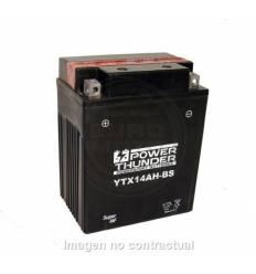 Batería Power Thunder YTX14AH-BS 12v 12Ah