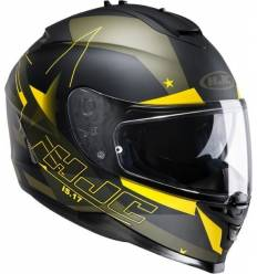 Casco Integral HJC IS17 ARMADA MC3F AMARILLO