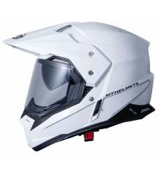 Casco cross MT Helmets Synchrony Duo Sport Blanco